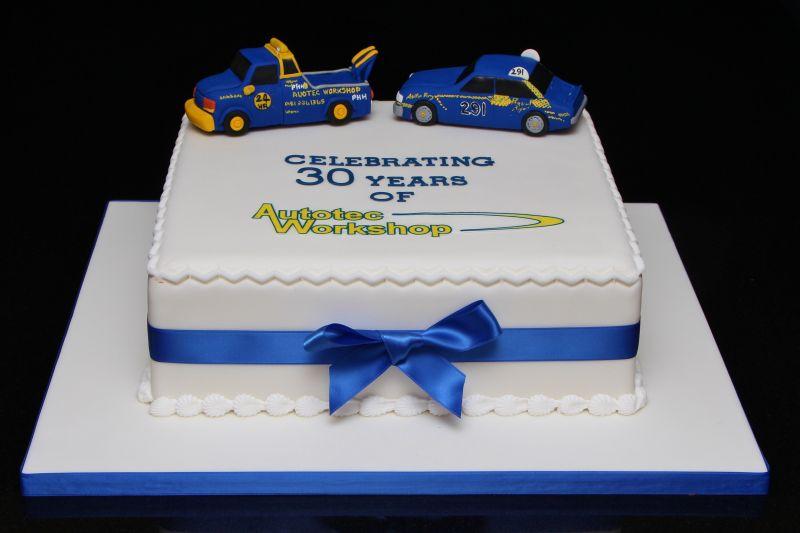Years Birthday Cake Design